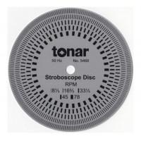 Tonar 10cm Aluminium Stroboscopic Disc, art.5468