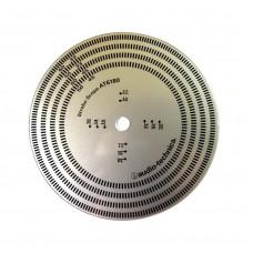 Audio-Technica AT6180 Turntable Scope
