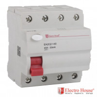 ElectroHouse EH(x) 4x40 УЗО