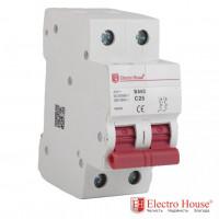ElectroHouse EH-2.10 Автоматический выключатель двухполюсный