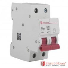 ElectroHouse EH-2.32 Автоматический выключатель двухполюсный