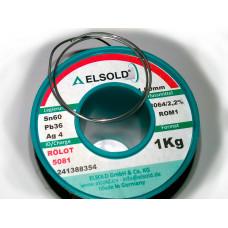 ELSOLD Sn60/Pb36/Ag4 В нарезку
