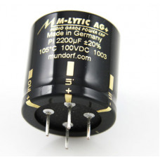 Конденсаторы электролитические Mundorf MLytic AG