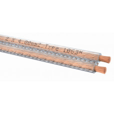 Oehlbach 1063 Speaker Cable Special 2x4,0mm clear