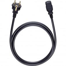 Oehlbach 17040 Powercord C13 black, 1,5 м