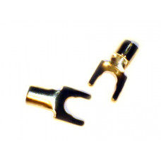 SYNERGISTIC RESERCH Gold  Spade (8 AWG)