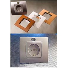 Silent Wire SW Socket with platin Faceplate